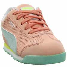 Puma Roma Perf Nubuck  Infant Girls  Sneakers Shoes Casual   - Pink