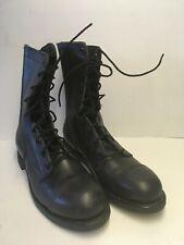 Vtg Biltrite Ansi Z41.1-1967/75 Black Leather Military Boots Steel Toe 7.5R