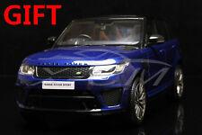 Resin Car Model Kyosho Range Rover Sport SVR 1:18 (Blue) + SMALL GIFT!!!!