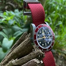 Premium (Tudor Style) Nylon - Single Pass Nato Watch Strap - 20/22mm - 4 Colours