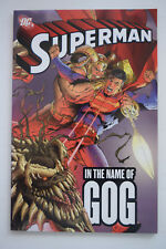 SUPERMAN IN THE NAME OF GOG DC COMICS CHUCK AUSTEN GRAPHIC NOVEL 9781845762018