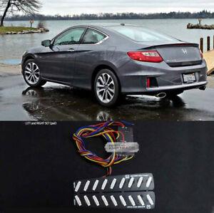 Rear Bumper Reflector 2Way Brake LED Module for HONDA 2013-2015 Accord Coupe