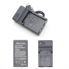 USB Battery Charger For Canon LP-E5 EOS 1000D 450D Kiss F , X2 500D 600mA Camera