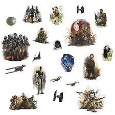 STAR WARS ROGUE ONE 20 Wall Decals Baze Bodhii TIE Striker Room Decor Stickers