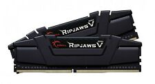 G.Skill Ripjaws V 32GB DDR4 RAM 2X16GB 3200MHz CL16 Gaming Desktop Memory Kit