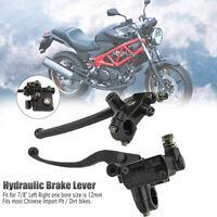 """7/8"""" 22mm Motorcycle Motorbike ATV Brake Clutch Master Cylinder Lever Cafe Racer"""