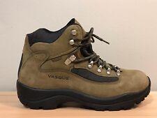 EUC 7.5 M Vasque Gore Tex GTX Hiking Boots Brown Blue Leather Mens Skywalk 7534