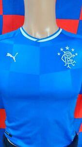 Glasgow Rangers Football Club Official Puma Football Shirt (Youths 9-10 Years)