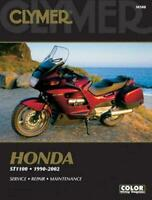 Honda ST1100/Pan European Motorcycle (1990-2002) Service Repair Manual Clymer