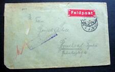 GERMANY WW1  FELDPOST COVER a