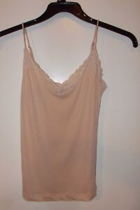 Used Women's Lace top Cami, Only Hearts New York Organic Cotton Small