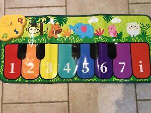 Kids Piano Mat, Music Mat Dance Mats Touch Animal Musical Carpet Mat