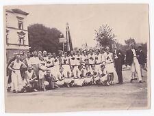 Foto --Turnverein Zuffenhausen-- beim Kreisturnfest 1929 in Heilbronn