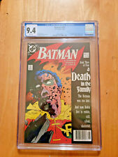 BATMAN # 428 DEATH OF ROBIN (JASON TODD) **CGC 9.4 WHITE PAGES** 1988  **2