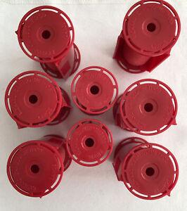6 Lg+2 Medium  Caruso Professional Molecular Rollers w/Shields Steam (#B-617-A)