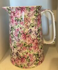 Large English Lord Nelson Ware Jug Chintz