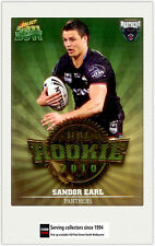 2011 Select NRL Champions Trading Cards Rookie 2010 R39 Sandor Earl (Panthers)