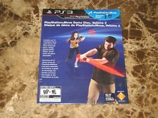 PlayStation Move Demo Disc, Volume 2 PS3 Sony BRAND NEW SEALED SLIM CASE