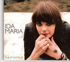 (EX823) Ida Maria, Fortress Round My Heart sampler - 2008 DJ CD