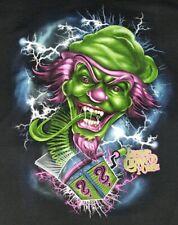 ICP Insane Clown Posse Juggalos HA HA HA Mens XXL 2XL T-shirt Black Twiztid