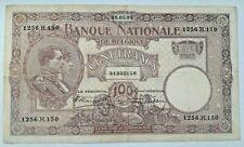 100 Francs 1925, KM:95 Belgique 100 Frank Belgïe LA#BFB-57 #F3#