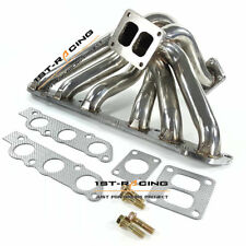 For Lexus IS300 GS300 2JZGE 2JZ-GE Turbo Exhaust Header Manifolds T4 DS Flange