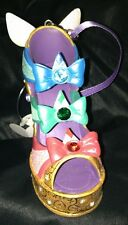 NEW DISNEY FAIRY GODMOTHER SHOE ORNAMENT CHRISTMAS
