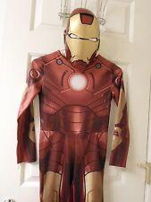 Boys Avengers Iron Man Ironman Costume with Mask Sz 7/8