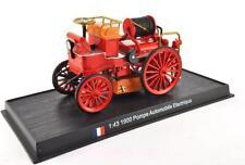 Fire Engine France 1900 Pompe Automobile Electrique 1/43 Fire Vehicle Model car