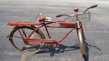 Vintage Red Columbia Rider Bike Bicycle