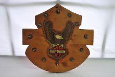 Harley Davidson Motorcycles Wooden Clock