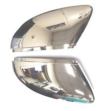 VW PASSAT CC, EOS, SCIROCCO CHROME DOOR WING MIRROR COVERS PAIR LEFT AND RIGHT