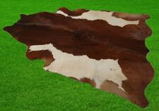 """New Cowhide Rugs Area Cow Skin Leather 24.50 sq.feet (63""""x56"""") Cow hide A-5917"""