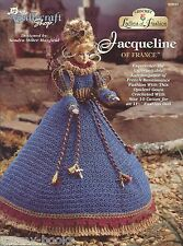 Jacqueline of France Ladies of Fashion Crochet Gown Pattern for Barbie Dolls NEW