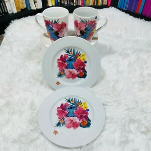 """LILO AND STITCH CUP & PLATE SET """"NWOT"""""""
