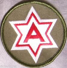 Embroidered Military Patch U S Army 6th Army New muted