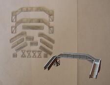 P&D Marsh N Gauge N Scale B22 SR concrete footbridge kit requires painting