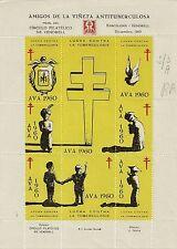 STAMP SPANISH / ESPAGNE / VIGNETTE AMIGOS DE LA VINETA ANTITUBERCULOSA 1960