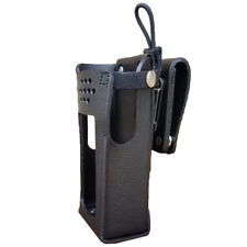GE7320-3AX Hard Leather Holster for Harris XL-200 Radios