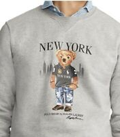 NWT POLO RALPH LAUREN Men's XL - FALL 2020 LTD ED NEW YORK Polo BEAR Sweatshirt