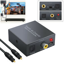 Digital Audio Converter Optical SPDIF Toslink to Coaxial Bi-derectional Swither