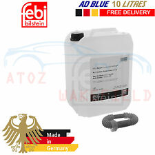 AD BLUE ADBLUE 10 LITRE DIESEL EXHAUST TREATMENT 10L FREE SPOUT FEBI GERMANY
