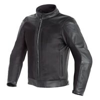 Dainese Corbin D-Dry Leather Jacket Black Waterproof Motorcycle Jacket NEW