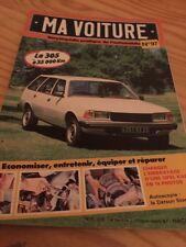Ma Voiture N° 97 encyclopédie pratique de l'automobile , hebdomadaire Hachette