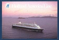 SS WESTERDAM Holland-America Line Passenger Liner