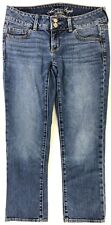 American Eagle Womens Jeans Blue Artist Stretch Size 4 Regular Measures 29x25