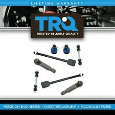 TRQ Tie Rod End Lower Ball Joint Sway Bar Link Front Suspension Set Kit for Ford