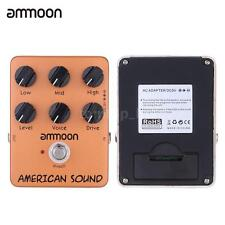 ammoon AP-13 American Sound Amp Simulator Guitar Effect Pedal True Bypass S5N6