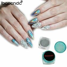 1g/Box Rainbow Mirror Nail Glitter Powder Holographic Nails Dust Laser Holo Nail