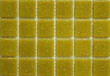 200 - 203 Matte Biscuit Cream Vitreous Glass Mosaic 10mm Tiles A32